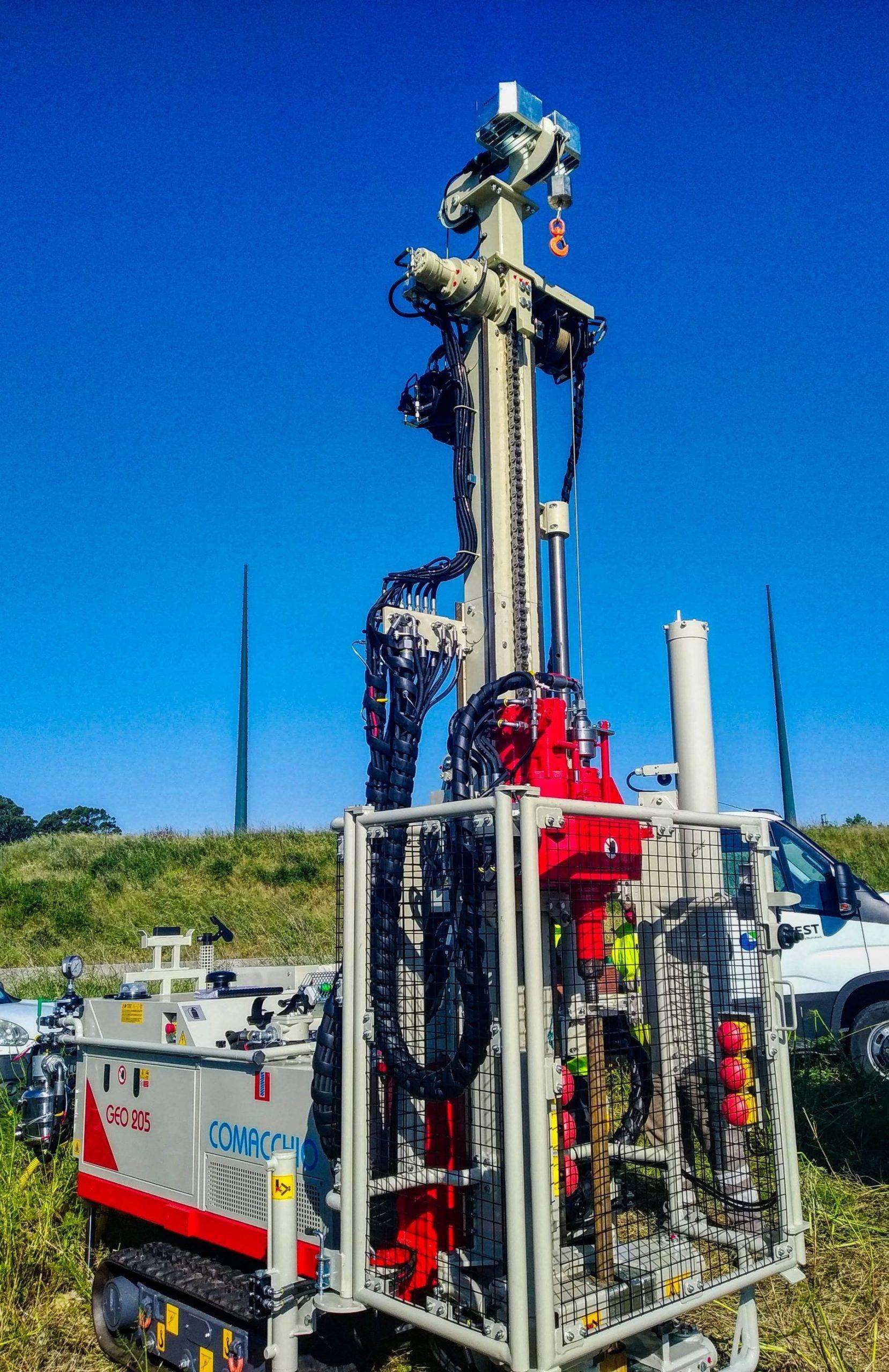 Máquina de Perfuração para Geotecnia GEO 205